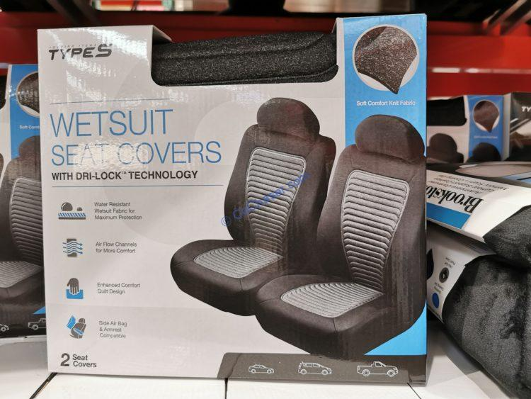 Winplus Type S Wetsuit Seat Covers 2 Pack,