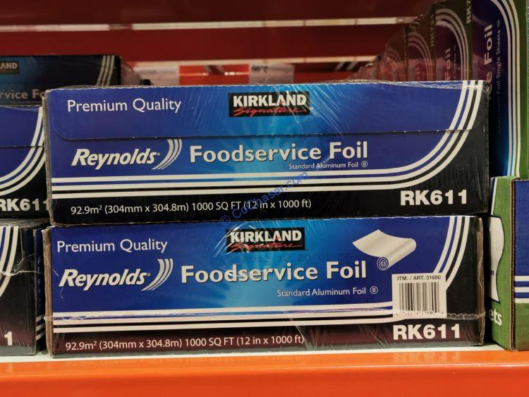 Kirkland Signature Reynolds Foodservice Foil, 1,000 SQ Roll