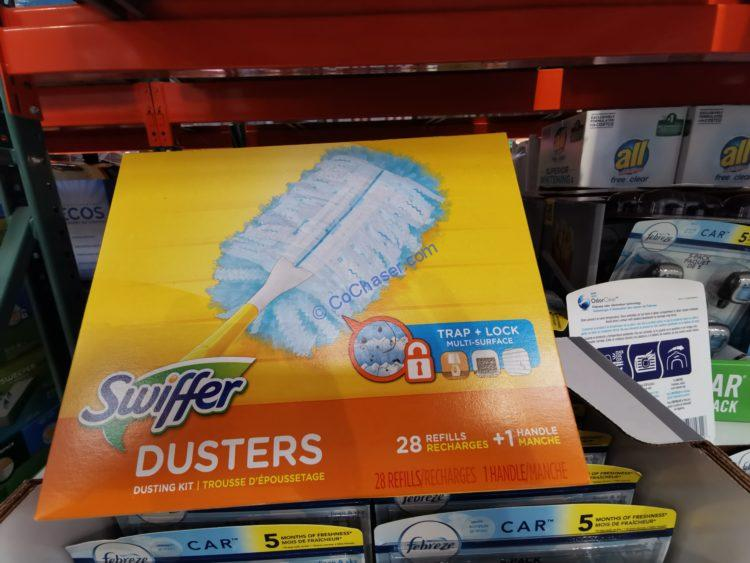 Swiffer Duster Dusting Kit, 1 handle & 28 refills