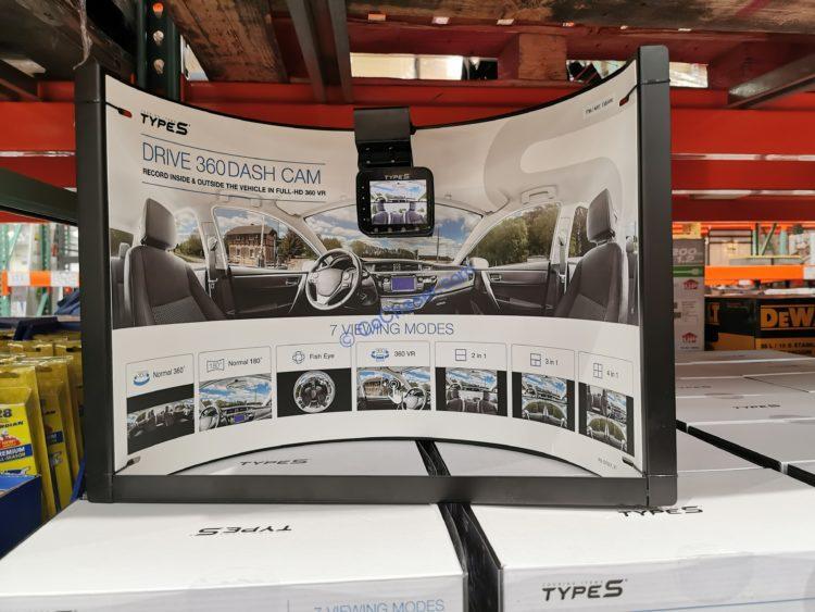 Type S 360 Degree Smart Dash Camera