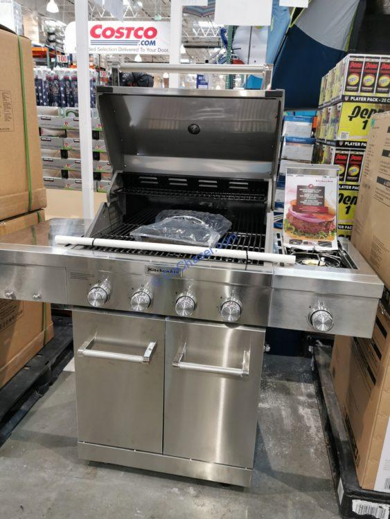 Costco-1902324-KitchenAid-4-burner-Gas-Grill-with-Side-Burner