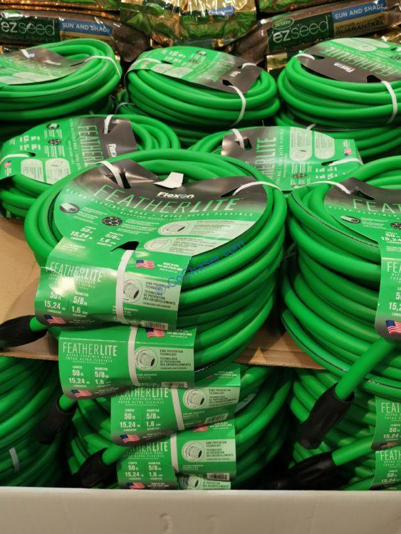 Flexon 50ft  Featherlite  Hose w/ Swivel Male Coupling