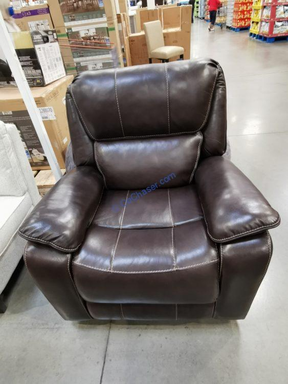 Barcalounger Leather Power Recliner