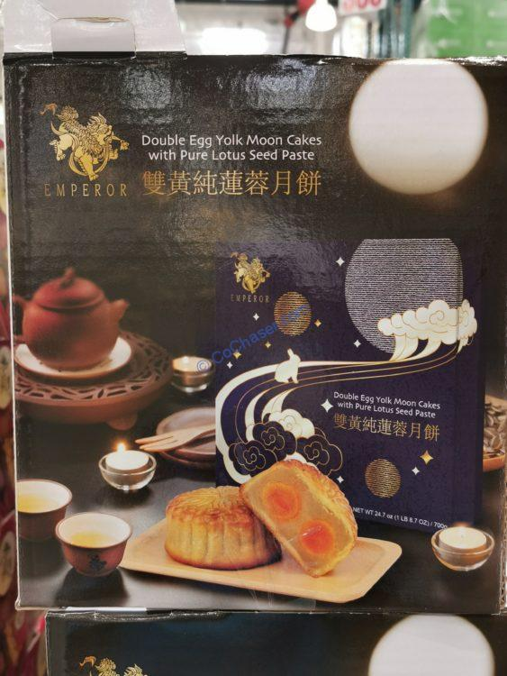 Emperor Double Yolk Mooncakes 24.7 OZ Package