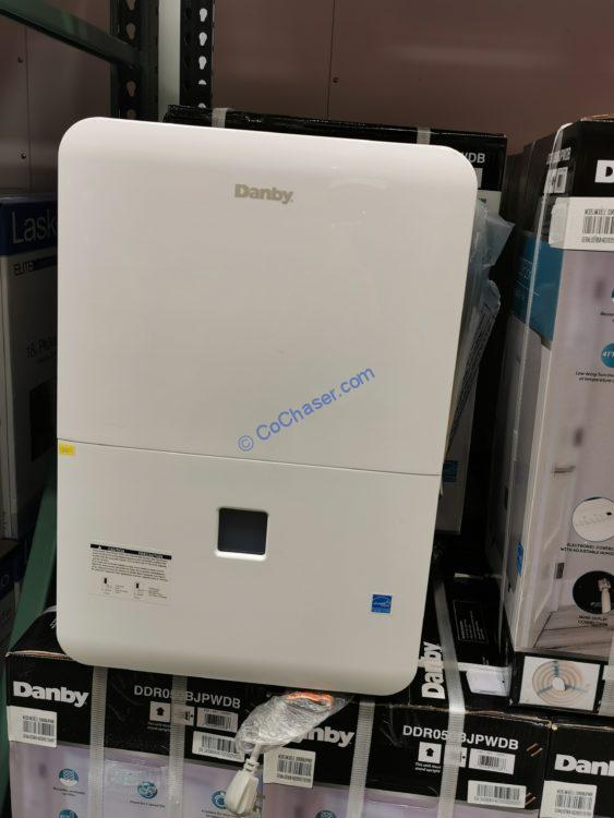 Danby 50 Pint Dehumidifier with Pump, Model# DDR050BJPWDB