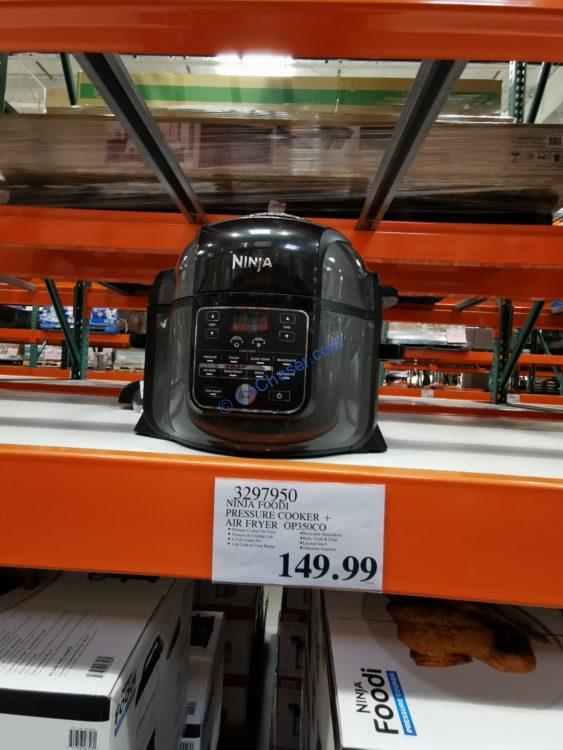 Ninja Foodi Pressure Cooker + Air Fryer Model#OP350CO