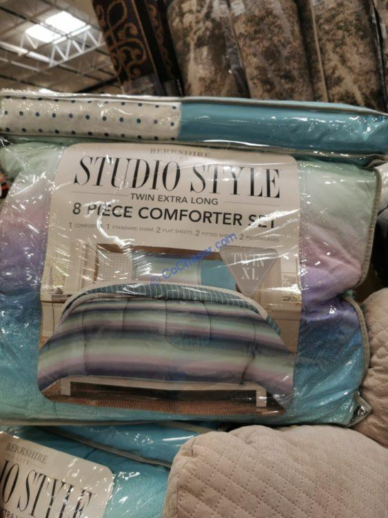 Berkshire Life Twin Extra Long 8PC Comforter Set