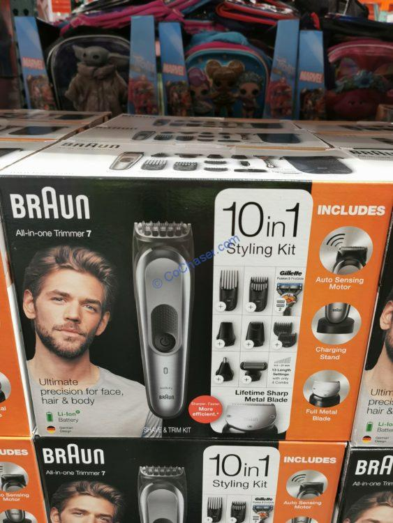 Costco-1325412-Braun-10-in-1-Trimmer- Shaver-Kit