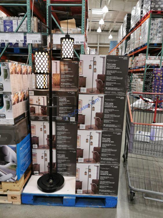 Bridgeport Designs Artemis 3-Light Floor Lamp, Model# JF5621-B