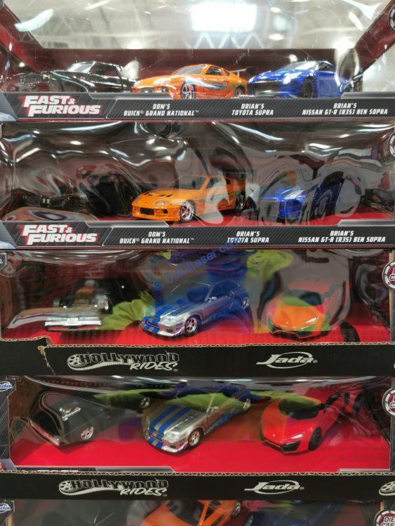 1:32 DIE-CAST Cars 3-Pack