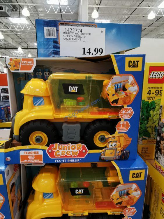 CAT Junior Crew Fix-It Phillip Construction Vehicle