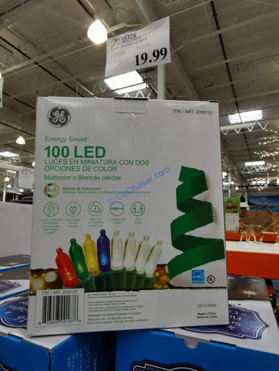 GE Mini Dual Color Changing Lights 100 Count