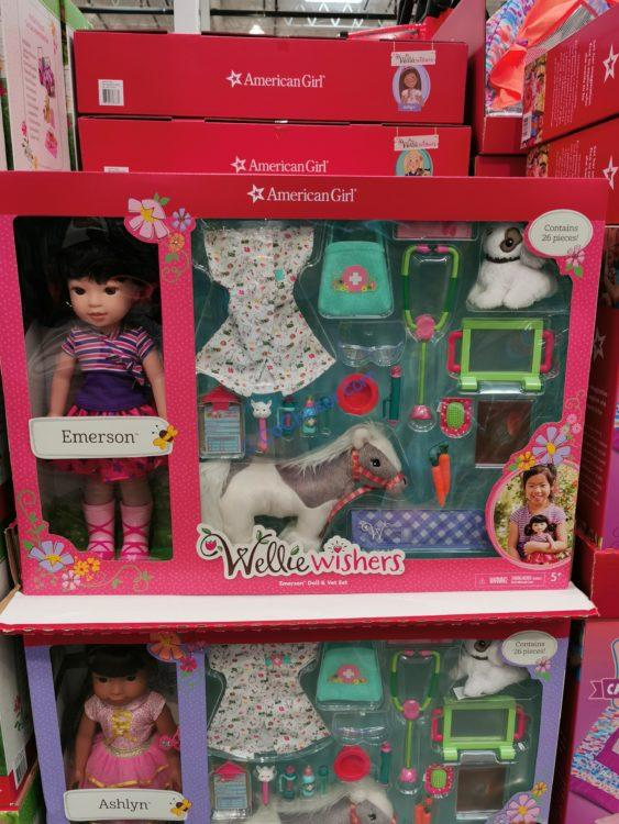 American Girl WellieWishers Doll and Vet Set
