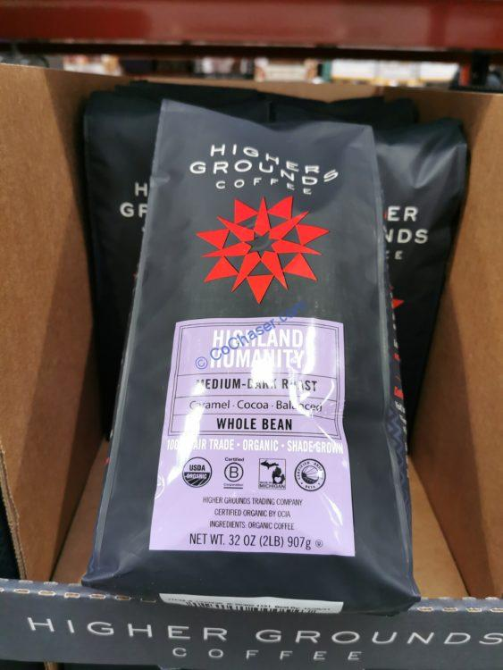 Higher Grounds Coffee Highland Humanity 2 Pound bag