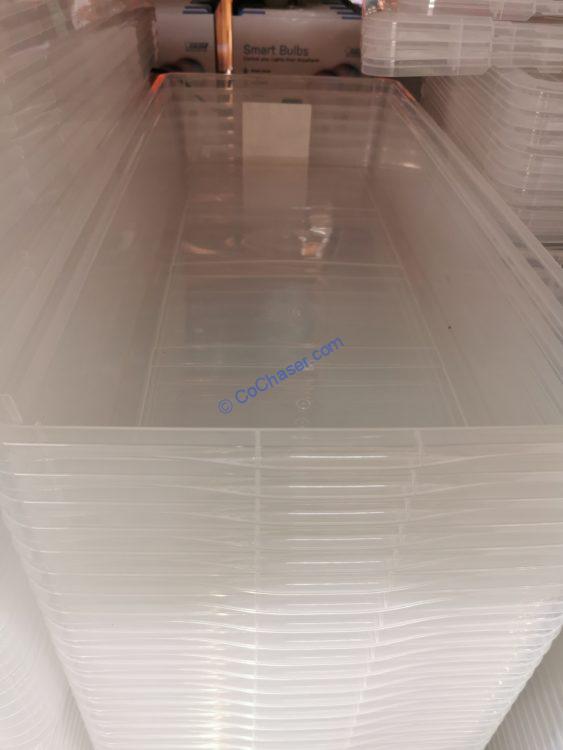 IRIS under Bed Storage Box 41 Quarter