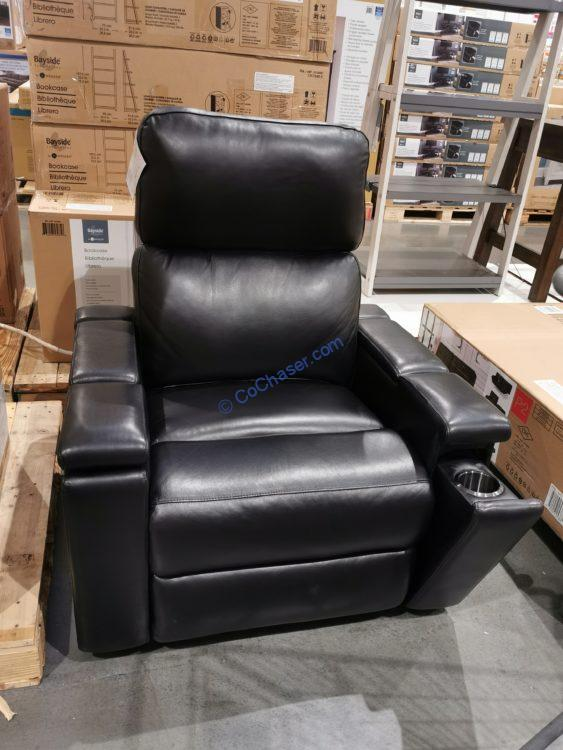 Pulaski Leather Power Home Theater Recliner