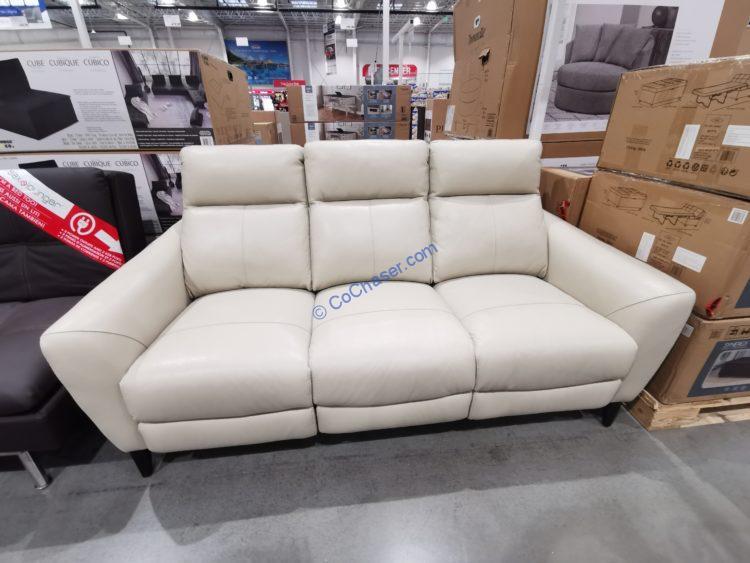 Gilman Creek Leather Power Sofa with Power Headrests