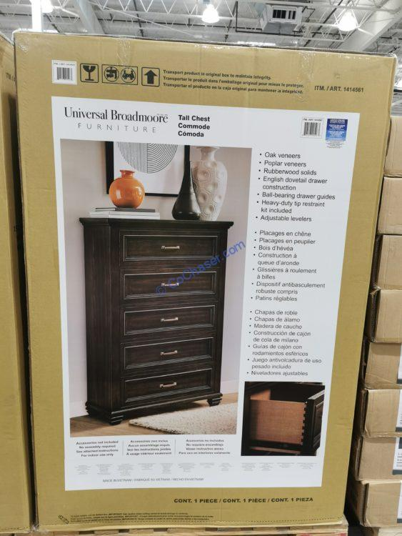 Universal Broadmoore Mendocino Tall Chest