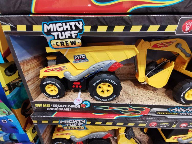 Mighty Tuff Crew Hot Rodz Construction Vehicles, 3-pack