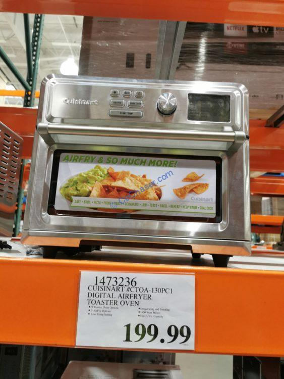 Cuisinart Digital AirFryer Toaster Oven, Model#CTOA-130PC1