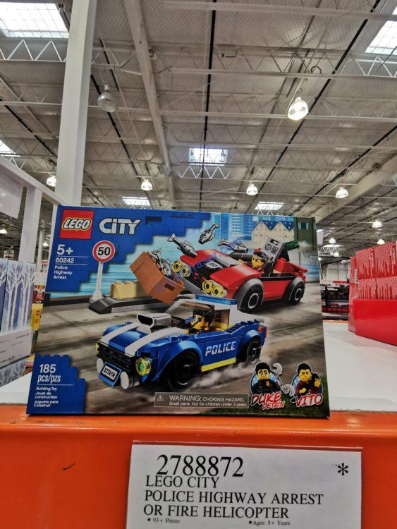 LEGO City Police Highway Arrest or Fire Helicopter