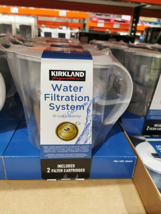 Kirkland Signature Water Filtered Pitcher with 2 Filters