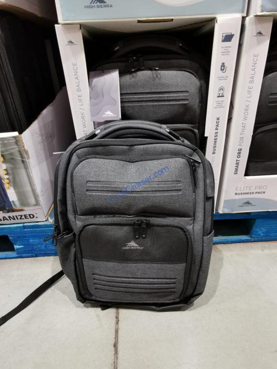 High Sierra Elite Pro Business Backpack