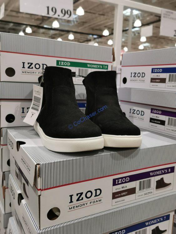 IZOD Ladies Slip on Bootie Sizes: 6-10