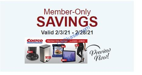 Costco Coupon Book: Feb.3, 2021 – Feb. 28, 2021