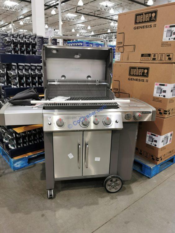 Costco-1318214-Weber-Genesis-II-S-345-3Burner-Gas-Grill