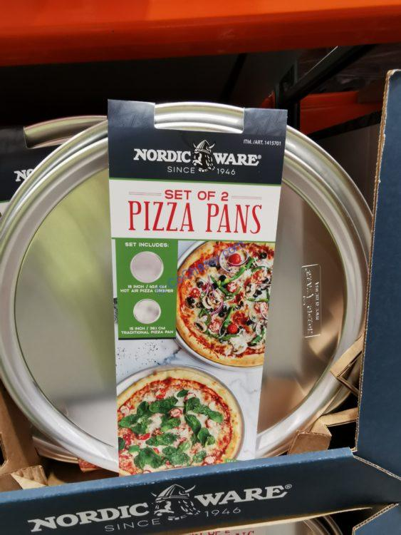 Nordic Ware Pizza Pan Set 2-Piece