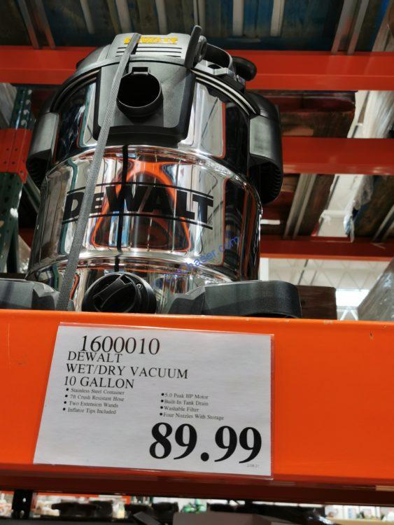DEWALT 10 Gallon Wet/Dry Vacuum
