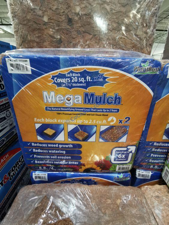 MegaMulch Expanding Coconut Coir, 2-pack