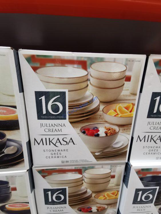 Mikasa Juliana Stoneware 16-Piece Dinnerware