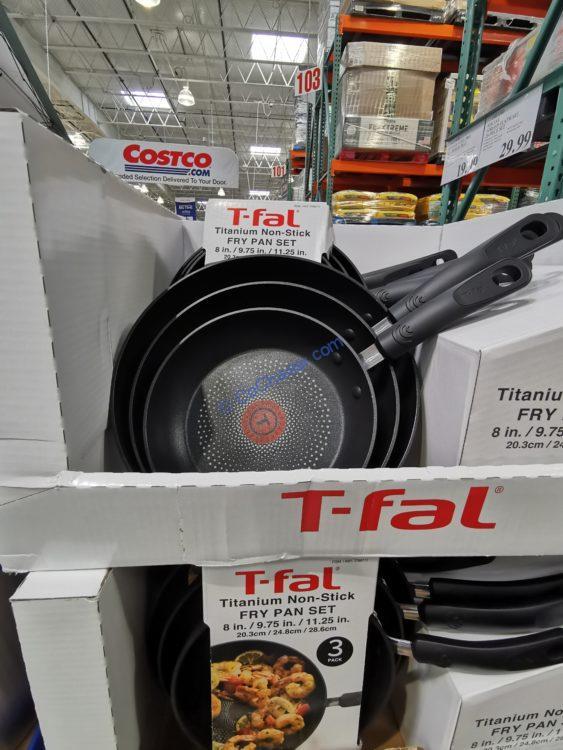 T-Fal 3-piece Fry Pan Set