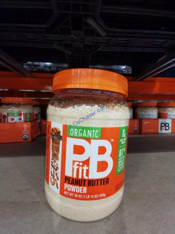 PBFit Organic Peanut Butter Power 30 ounce Jar