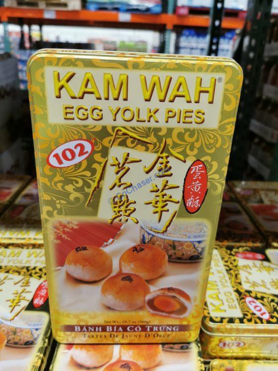 Kam Wah Egg Yolk Pies 8 Count Tin