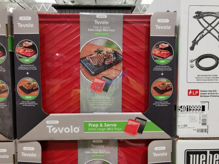 Tovolo 2-piece Prep & Serve BBQ Trays