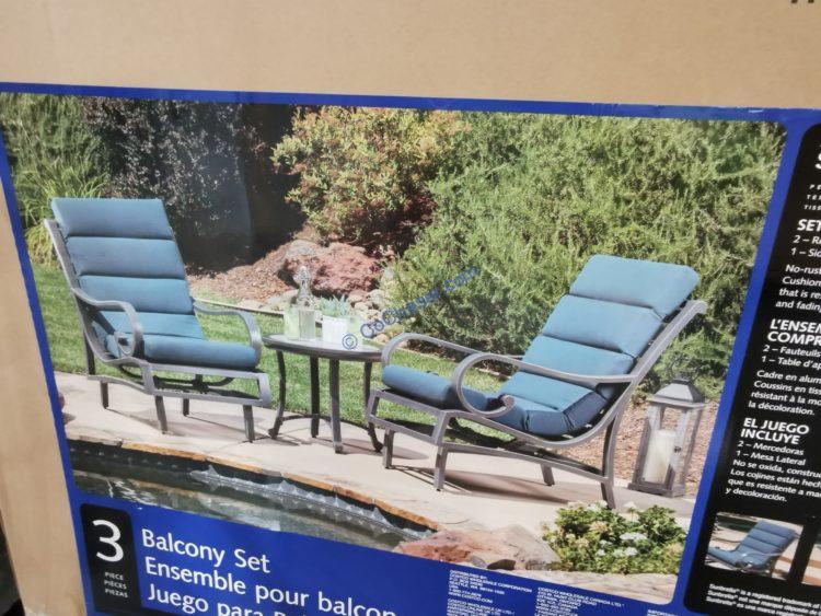 Sunvilla Monroe 3-piece Balcony Set