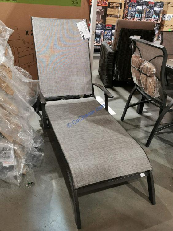 Commercial Quality Sling Chaise Lounge