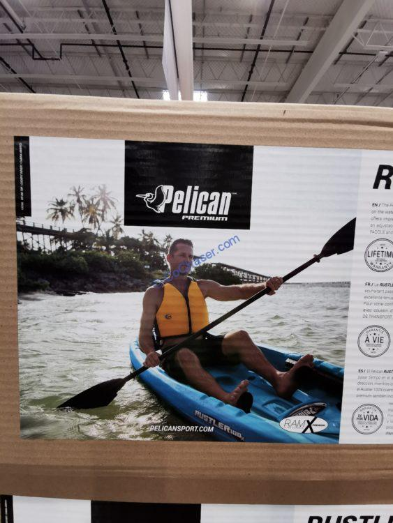 Pelican Mission 100X Sit-In Kayak with Paddle