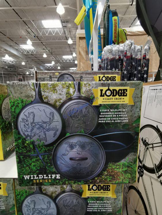 Lodge Wildlife 5 Piece Cast Iron Cook Set
