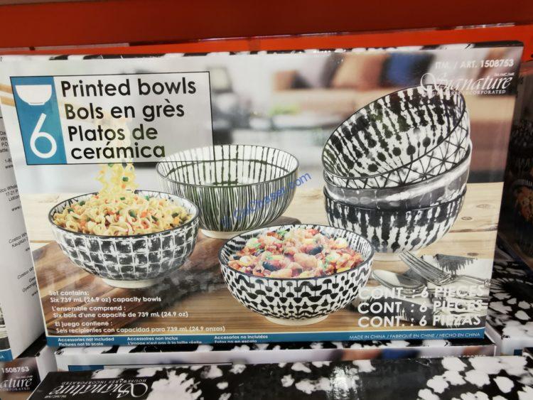 Signature All Purpose Bowls Set of 6