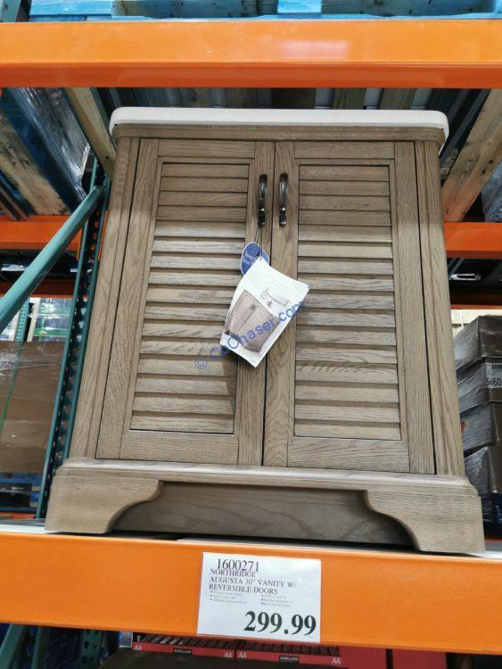 "Northridge Augusta 30"" Vanity with Reversible Doors, Model#9V330V30"