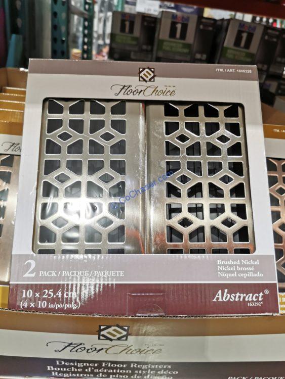 Floor Choice Registers 4 x 10 2PK