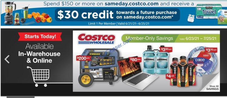 Costco Coupon Book: June 23, 2021 – July 25, 2021