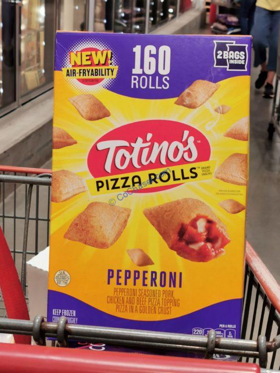 Totino's Pepperoni Pizza Rolls 160 Count Box