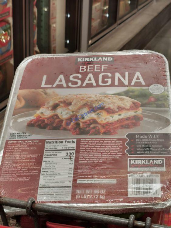 Costco-1321635-Kirkland-Signature-Beef-Lasagna