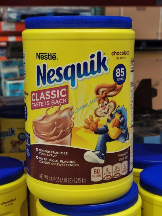 Nestle Nesquik Chocolate Powder 44.9 OZ Canister