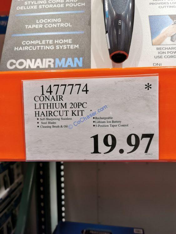 Costco-1477774-ConairMan-Lithium-20-piec- Haircut-Kit-tag1